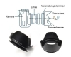 Бленда 67 мм Flower Petal Screw mount Lens Hood для Canon Nikon Tamron